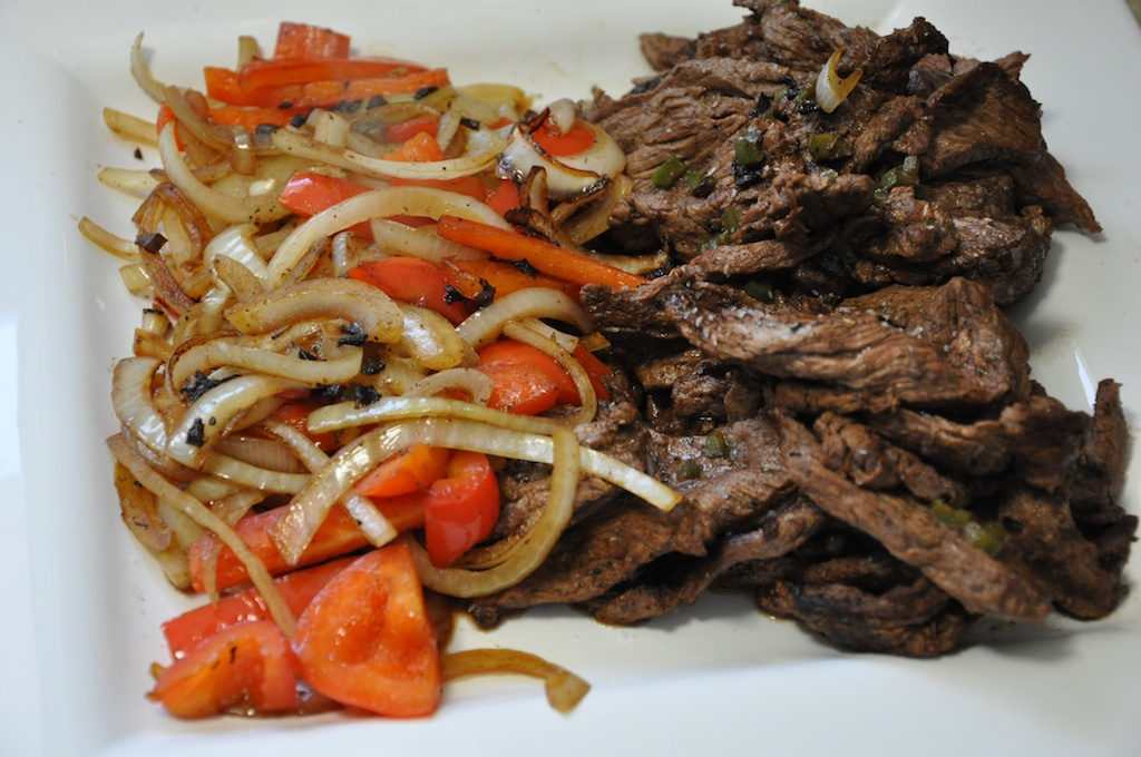 Beef Fajitas on the Fly | Dula Notes