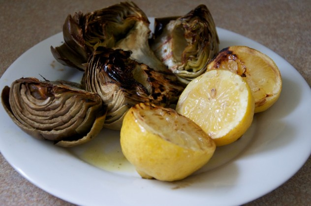 Grilled Fresh Artichokes Recipe // Dula Notes