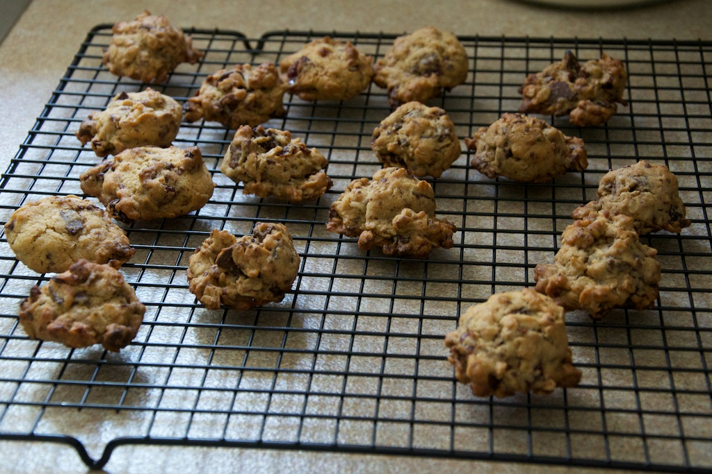 Chocolate Chunk Oatmeal Cookies with Pecans and Dried Cherries Recipe ...