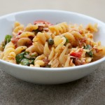 Sundried Tomato Pasta Salad Recipe // Dula Notes