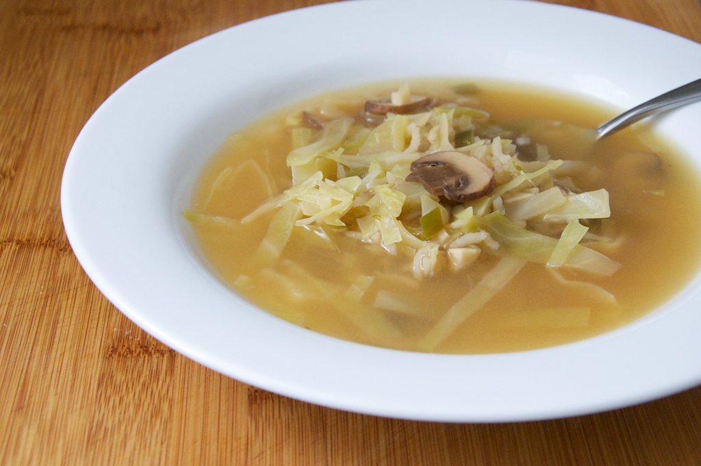 Hot And Sour Mushroom, Cabbage, And Rice Soup Recipes ...