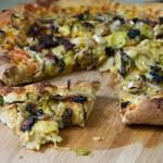 Wilted Brussels Sprouts and Applewood Smoked Bacon Pizza // Dula Notes
