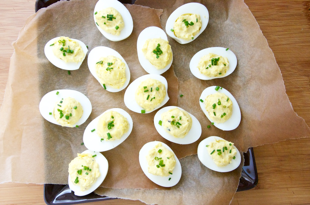 Mom's Deviled Eggs Recipe // Dula Notes