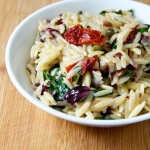Radicchio and Spinach Orzo Recipe // Dula Notes
