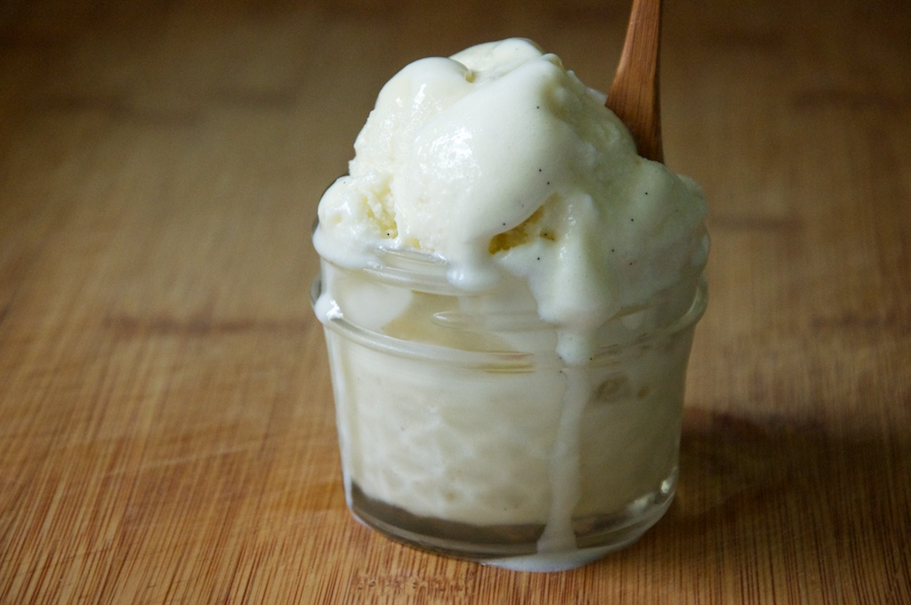 Vanilla Bean Ice Cream Recipe // Dula Notes