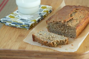 Coconut Oil Zucchini Bread Recipe // Dula Notes