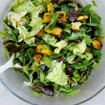Vegan Delicata Squash and Bulgar Salad with Maple Vinaigrette Recipe // Dula Notes