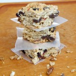 Homemade Granola Squares Recipe // Dula Notes