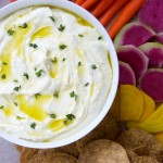 Whipped Lemon Feta Dip Recipe // Dula Notes