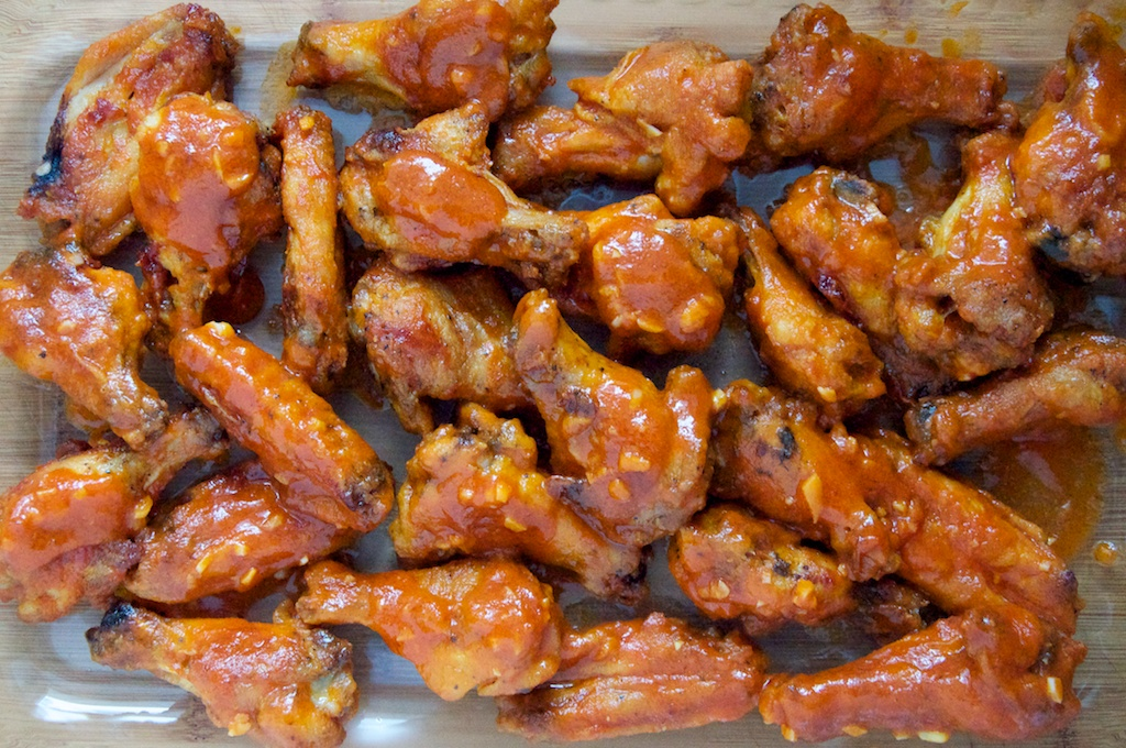Baked Buffalo Chicken Wings // Dula Notes