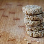 Raw Vanilla Walnut Cookies // Dula Notes