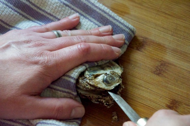 How to shuck an oyster // Dula Notes