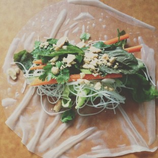 Vietnamese Spring Rolls Recipe // Dula Notes