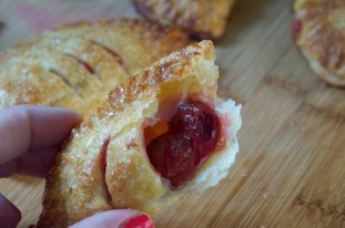 Mini Sour Cherry Hand Pies Recipe // Dula Notes