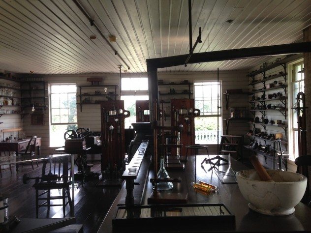 Thomas Edison's Laboratory // Dula Notes
