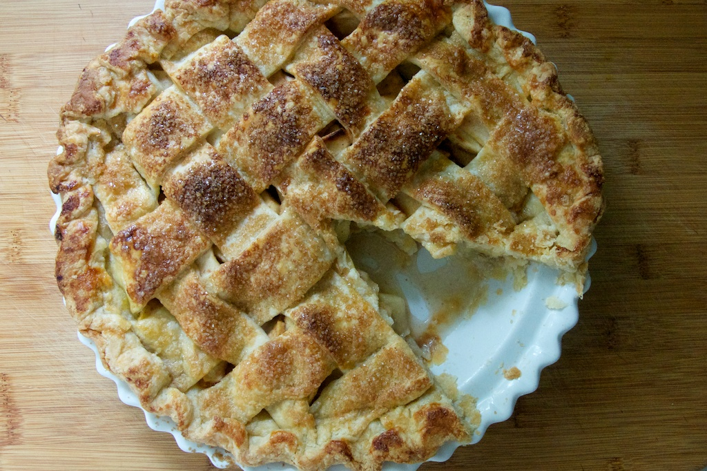 How to make a old fashioned apple pie from scratch