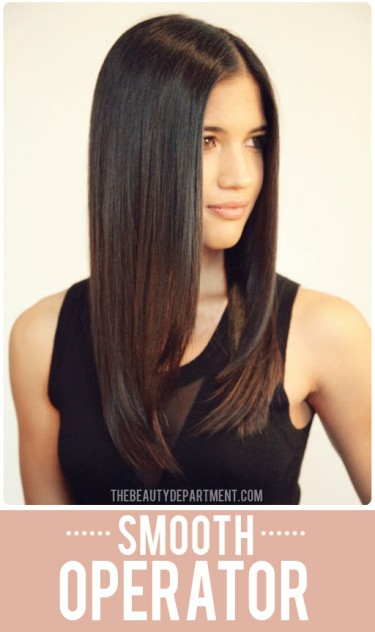 Straight Hair With Volume // My 5 Favorite Beauty Tips from Pinterest