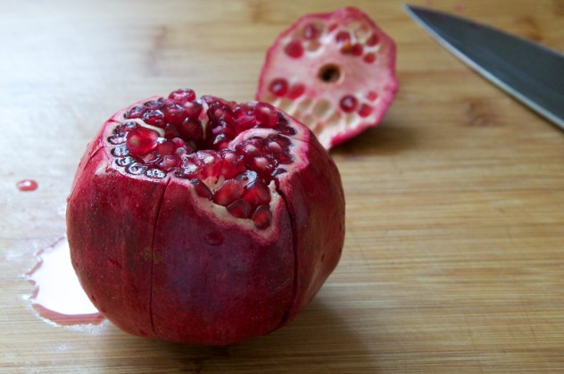 The Best Way to Open a Pomegranate // Dula Notes