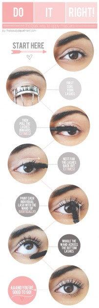 How To Get The Most From Your Mascara // My 5 Favorite Beauty Tips from Pinterest