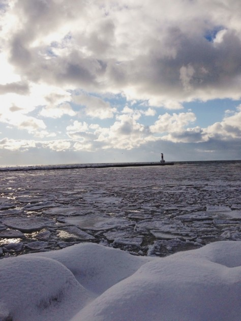Lake Michigan on Christmas Eve // Dula Notes