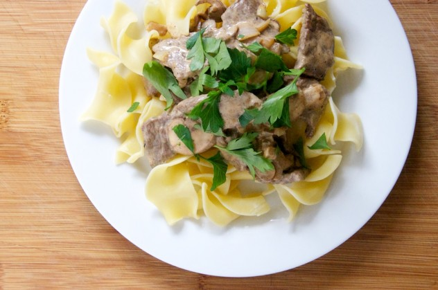Beef Stroganoff Recipe from Dula Notes