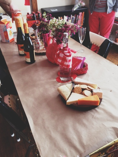 Invited to Megan's Valentine's Day Brunch // Dula Notes