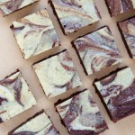 Tahini Swirl Cocoa Brownies Recipe // Dula Notes