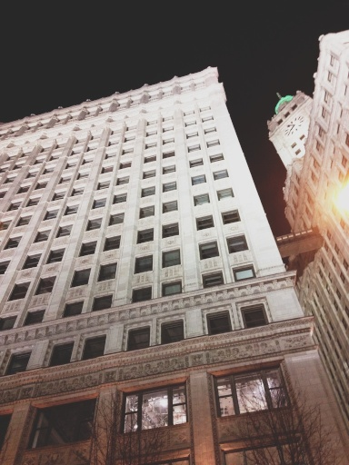 Night View of Chicago // Dula Notes