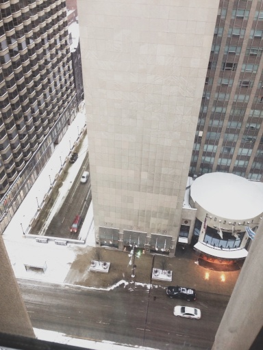 View from Conrad Hotel Chicago // Dula Notes