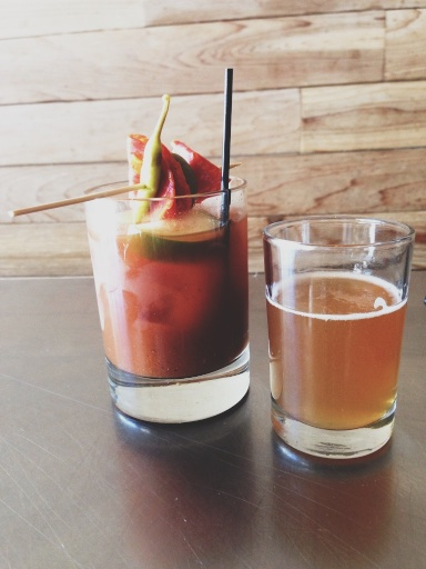 Harissa Bloody Mary Avec Chicago // Dula Notes