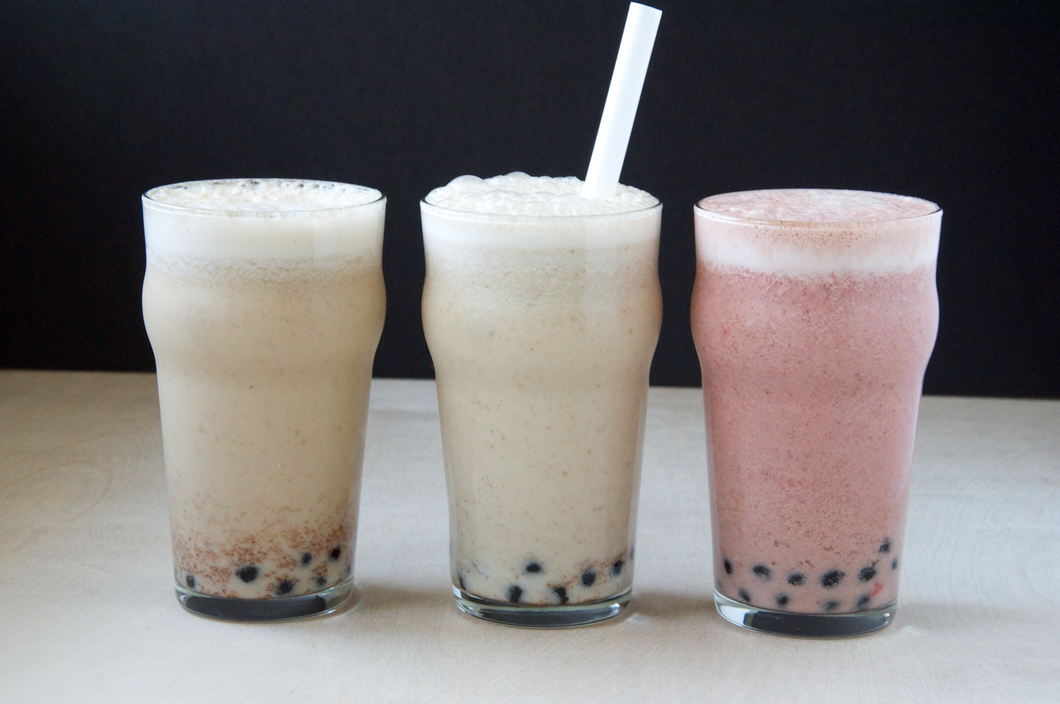 Almond Milk Bubble Tea Three Ways | Dula Notes