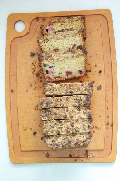 Rhubarb Buttermilk Bread Recipe // Dula Notes