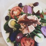 Seasonal Snapshots - Salade Nicoise // Dula Notes