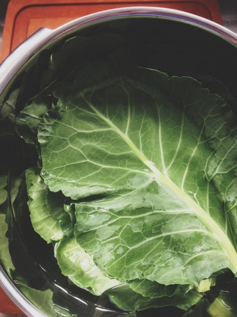Seasonal Snapshots - Collard Greens // Dula Notes