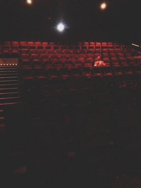 Seasonal Snapshots - Empty Theater // Dula Notes