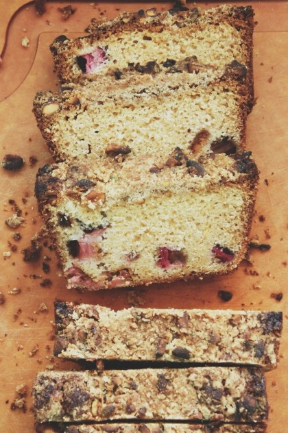 Seasonal Snapshots - Rhubarb Quick Bread // Dula Notes