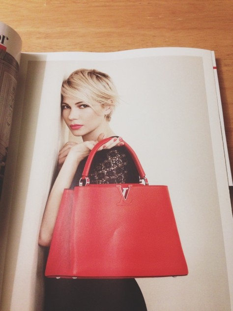Seasonal Snapshots - Vogue, Michelle Williams // Dula Notes