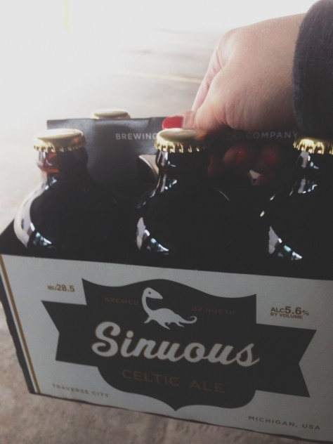 Seasonal Snapshots - North Peak Sinous Ale   // Dula Notes