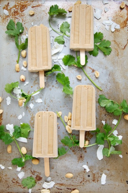 Vegan Thai Peanut Popsicles Recipe // Dula Notes