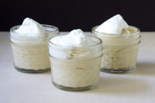 Salted Butterscotch Pudding + Vanilla Bean Whipped Cream Recipe // www ...