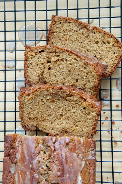 Spiced Maple Stout Quick Bread Recipe // www.dulanotes.com @nicoledula