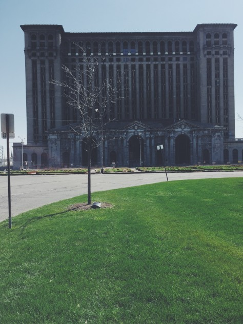 Michigan Central Station in Detroit, Michigan // @nicoledula