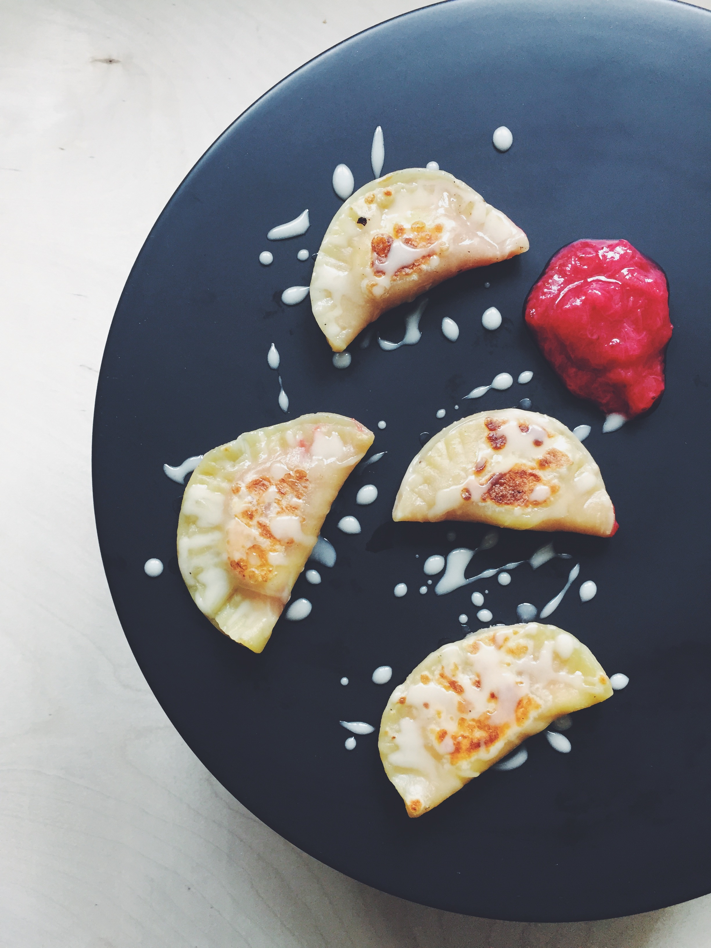 Homemade Pierogi Recipe with Take a Megabite // @nicoledula