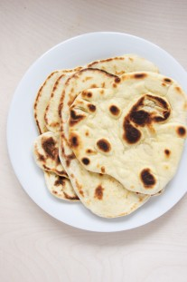Homemade Pita Bread Recipe // @nicoledula