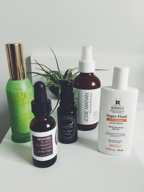 Green Beauty Favorites // Moisturizer + Exfoliant + Antiage // @nicoledula