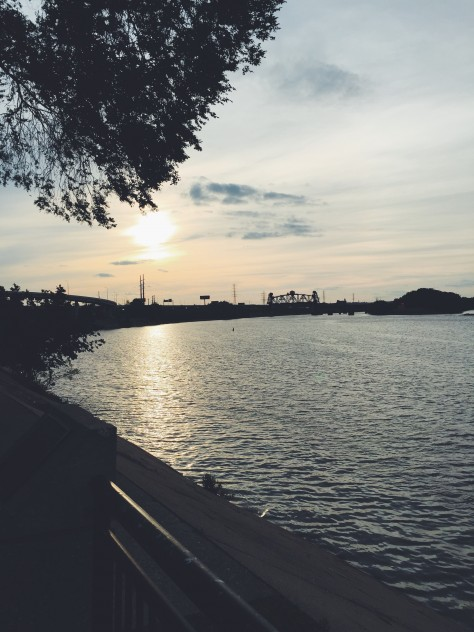 View Over The Ohio River in Louisville, KY // @nicoledula
