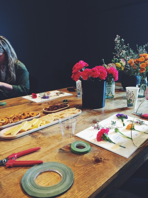 Floral Crown Workshop with Made Floral // @nicoledula