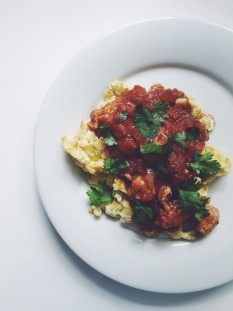 Week 4 of Whole 30 recipes + a recipe for Butter Chicken over Scrambled Eggs // @nicoledula #whole30