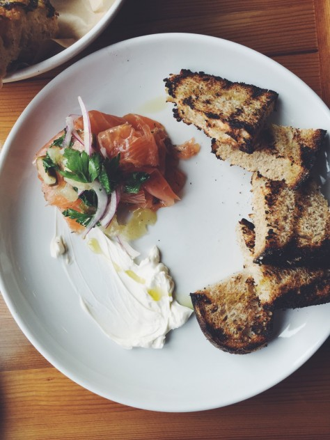 Gold Cash Gold in Detroit, Michigan - Gin-Cured Lox // @nicoledula #Detroit