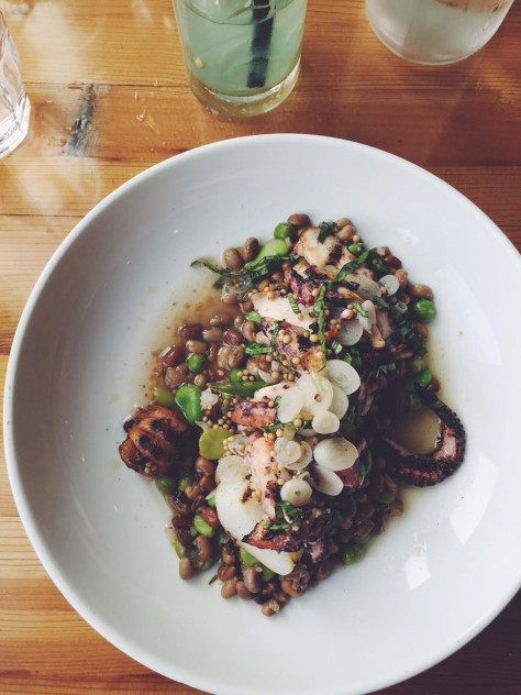 Gold Cash Gold in Detroit, Michigan - Charred Octopus + Cuttlefish // @nicoledula #Detroit
